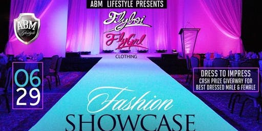 "ABM presents ""Fly Boi and Fly Girl Fashion Showcase and Afterparty"""