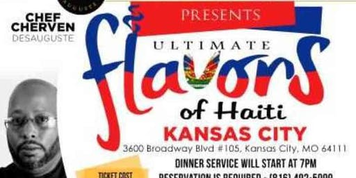 Ultimate Flavors of Haiti - Kansas City