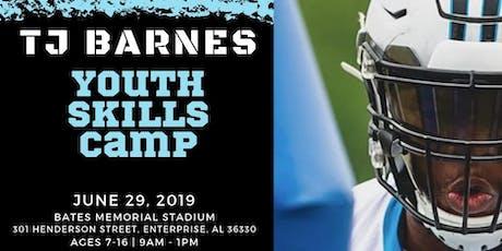 TJ Barnes Youth Football Camp tickets