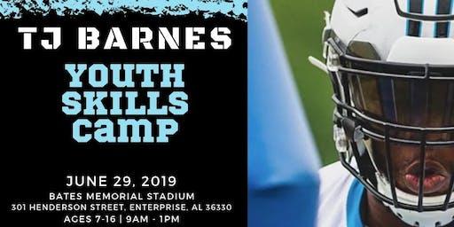 TJ Barnes Youth Football Camp