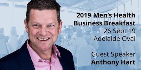 2019 Men's Health Business Breakfast tickets