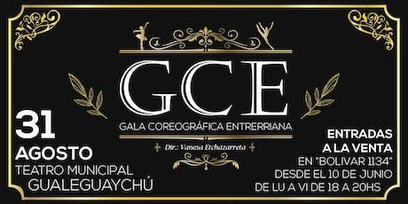 Gala Coreográfica Entrerriana 2019 entradas