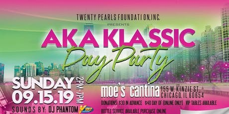 Twenty Pearls Foundation, Inc. 2019 AKA Klassic Day Party  tickets