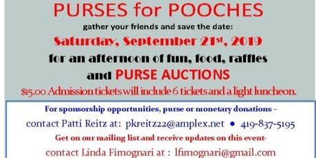 Purses for Pooches tickets
