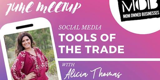 Reno, NV MOB Meetup Tools Of The Social Media Trade With Speaker Alicia Thomas