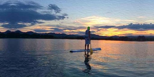 Summer Solstice Sunset PaddleBoarding with Athleta & Altitude PaddleBoards