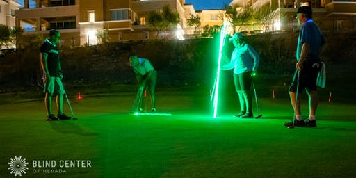 8th Annual Blind Center Glow Golf Tournament