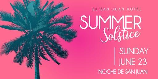 Noche de San Juan, Summer Solstice Pool Party 2019