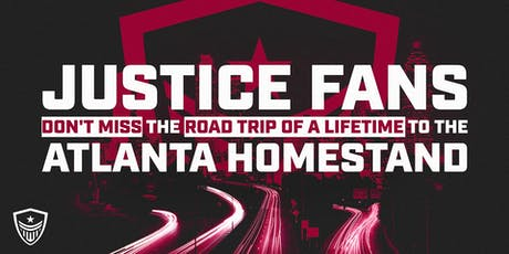 Washington Justice Road Trip to Atlanta Homestand tickets