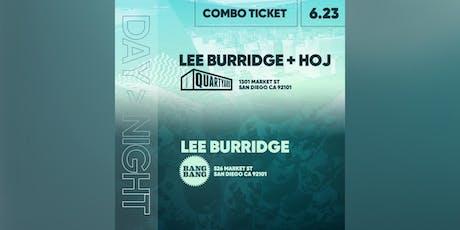 LEE BURRIDGE COMBO TICKETS tickets