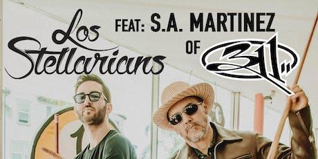 LOS STELLARIANS (S.A. Martinez of 311) tickets
