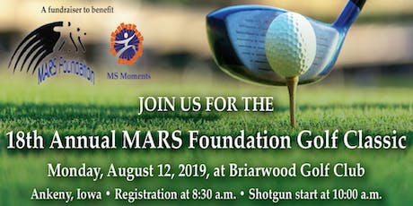 Copy of 18th Annual Mars Foundation Golf Classic tickets