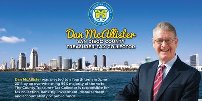 Lunch & Learn: Dan McAllister, San Diego County Treasurer-Tax Collector