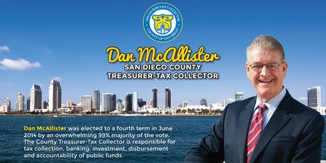 Lunch & Learn: Dan McAllister, San Diego County Treasurer-Tax Collector tickets