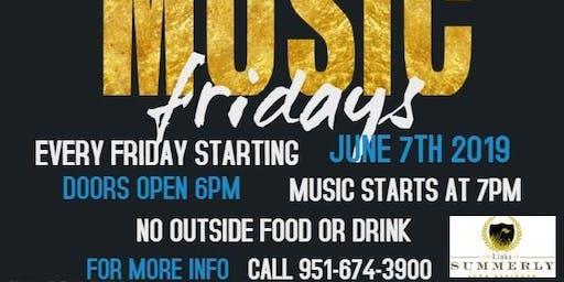 Free Music Fridays