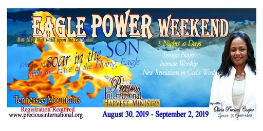 EAGLE POWER WEEKEND - Aug. - Sept. 2019