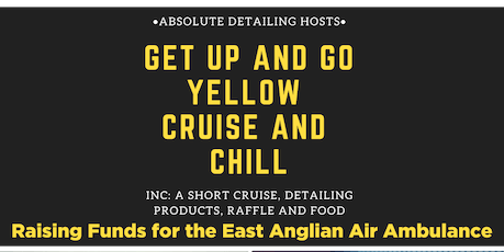 Car And Bike Cruise For Get Up And Go Yellow  tickets