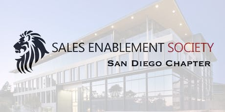 San Diego Chapter Meeting - Sales Enablement Society tickets