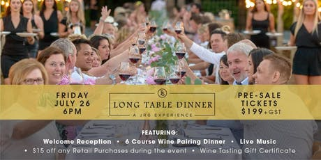 Long Table Dinner: A JRG Experience tickets