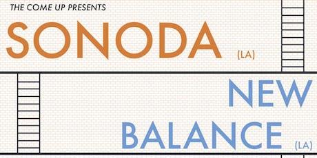 SONODA / NEW BALANCE tickets