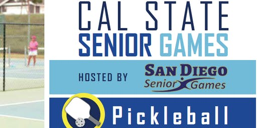 Pickleball Age 50+ Senior State Championships San Diego
