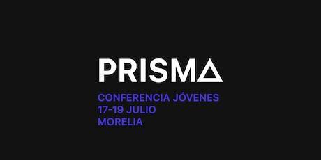 PRISMA | Conferencia Jóvenes- Más Vida entradas