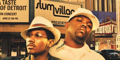 Slum Village Tour in Miami Beach 8/18/19 tickets