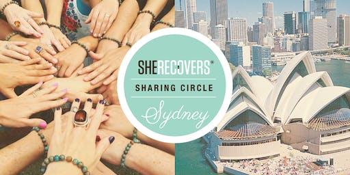 She Recovers sharing circle July