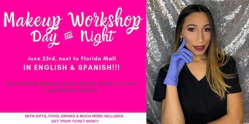 Bilingual MAKEUP WORKSHOP WITH LUXE BEAUTY STUDIOS (English & Spanish)- by Influencer & Celebrity Makeup Artist Sheila Gutierrez