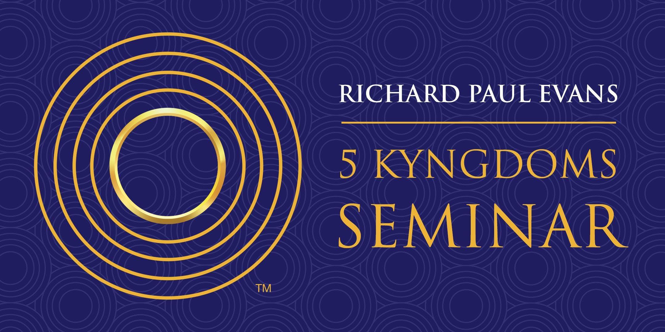 Richard Paul Evans 5 Kingdoms Training (Scottsdale)