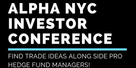 Alpha NYC-Investment Conference tickets