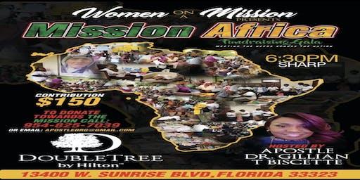 WOAM | Mission Africa: Fundraising Gala