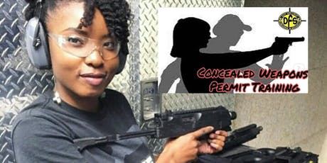 FINANCIAL DEFENSE & CONCEALED WEAPON PERMIT COURSE  tickets