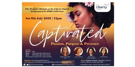 CAPTIVATED - Women's Conference 2019 tickets