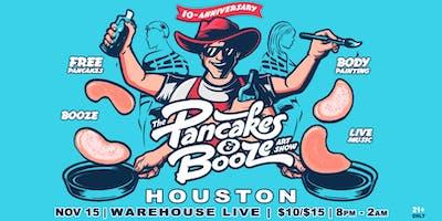 The Houston Pancakes & Booze Art Show