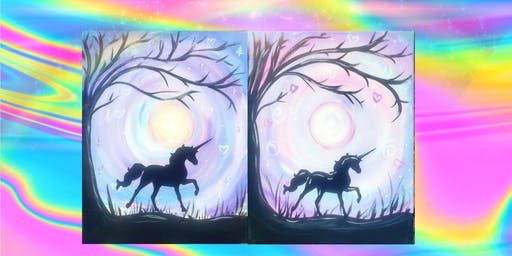 unicorn applique kids Paint