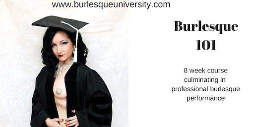 Burlesque 101 - 8 week course