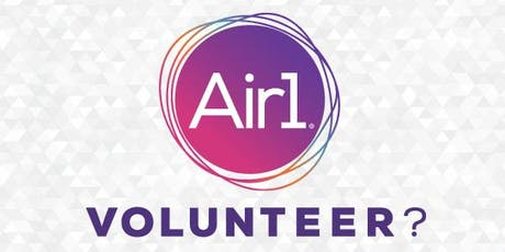 Air1 Volunteer Training  tickets