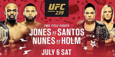 Ring the Belle :: Jones vs Santos :: Nunes vs Holm tickets