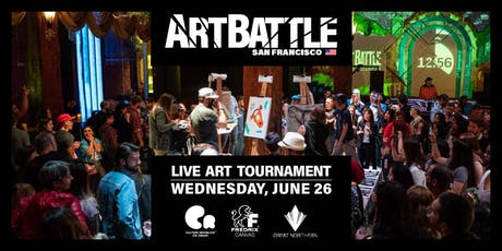 Art Battle San Francisco - June 26, 2019 tickets