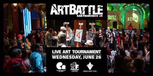 Art Battle San Francisco - June 26, 2019