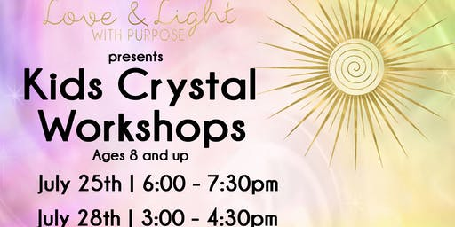 Kids Crystal Workshop