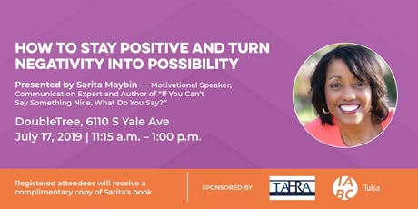 How to Stay Positive and Turn Negativity into Possibility tickets