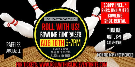 Roll With Us! A LEO Hearted Cares Bowling Fundrais