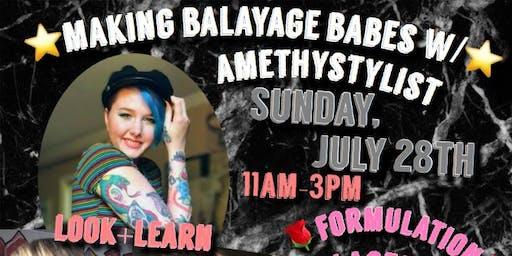 Making balayage babes w/ Amethystylist