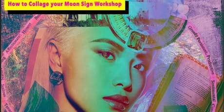 How to Collage your Moon Sign tickets