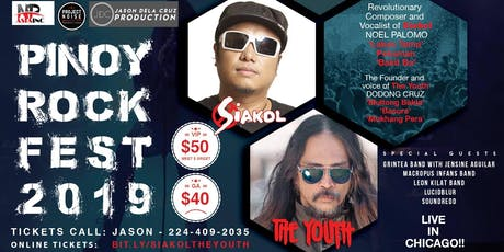 SIAKOL (Noel Palomo) and THE YOUTH (Dodong Cruz) - Live in Chicago tickets