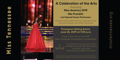A Celebration of the Arts with Miss America 2019, Nia Franklin