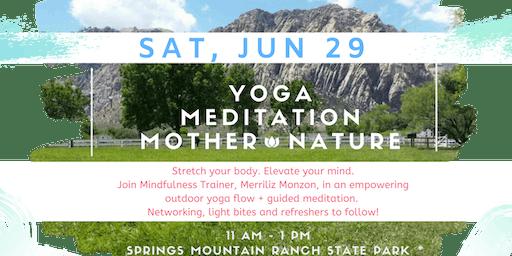 Women's Outdoor Yoga & Meditation Mixer!