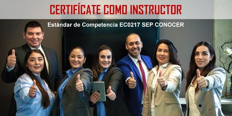 Certifícate como Instructor EC0217 RED CONOCER boletos
